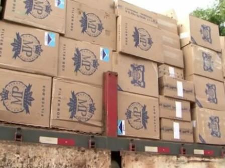PRF apreende 16 milhões de cigarros falsificados em Vitória da Conquista