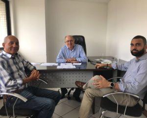 Pré-candidato a governador, José Ronaldo se reúne com representantes do PSC