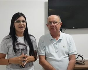 Ao lado de Zé Ronaldo, Dayane Pimentel convoca apoiadores para ato pró-Bolsonaro em Feira