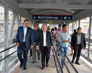 Governo da Bahia inaugura duas últimas passarelas da Linha 2 do metrô