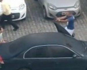PM é preso após atirar contra colega durante briga em estacionamento de condomínio