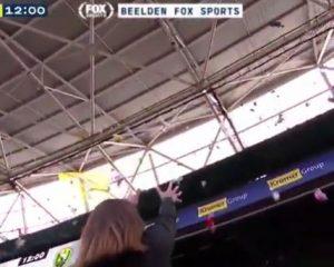 """Vídeo: Jogo na Holanda tem """"chuva de bichinhos de pelúcia"""""""