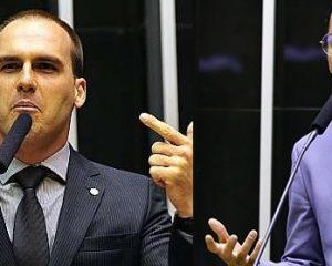 "Eduardo Bolsonaro chama Kannário de ""vagabundo"""