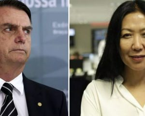 Bolsonaro ataca jornalista e insulta os japoneses que vivem no Brasil